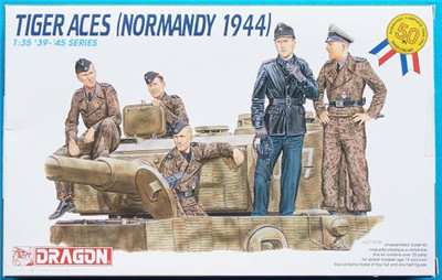 1:35 Dragon Figures Tiger Aces (Normandy 1944) 6028