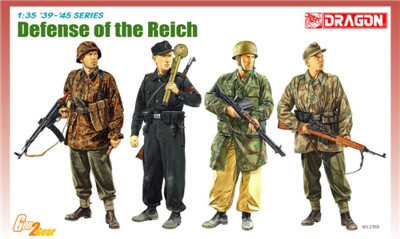 1:35 Dragon Figures Defense of the Reich 6694