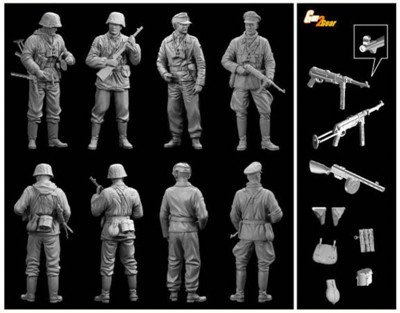 1:35 Dragon Das Reich Division Easter Front 1943-44 6706