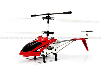 Syma S107G 3CH RC Helicopter RTF w/ Gyro (Red)