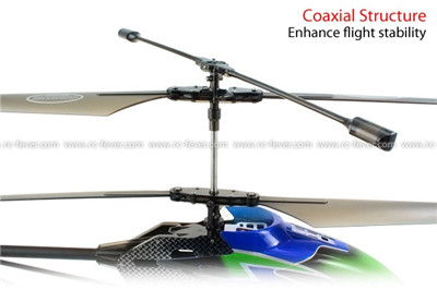 Syma S33 3CH Helicopter 2.4GHz w/ Built-in Gyro (Blue)