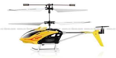 Syma S5 Infrared Coaxial Micro Helicopter RTF w/ Gyro(Yellow)