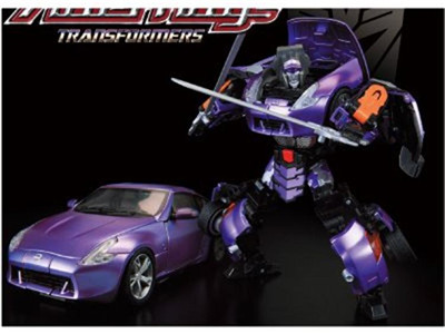 Transformers Alternity A-02 Nissan Fairlady Z Galvatron Exclusive