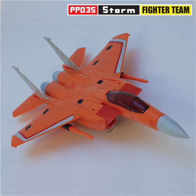 Transformers iGear PP03S Storm Fighter Team