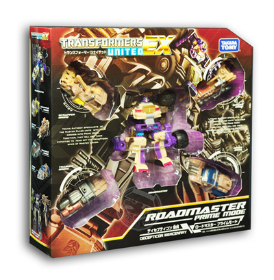 Transformers United EX 03 Road Master Prime Mode