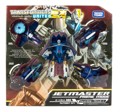 Transformers United EX Jet Master Prime Mode
