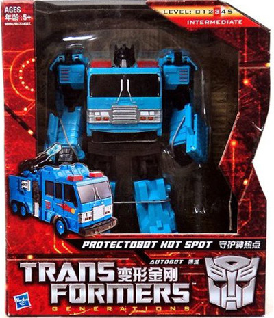 Transformers Generations GDO Protectobot Voyager Hotspot