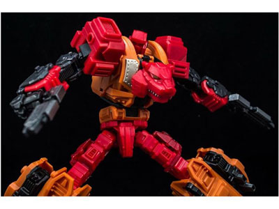 Transformers Reformatted Feral Rex R-06 Tigris Shock Trooper
