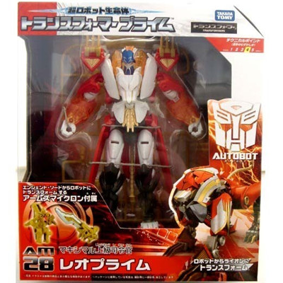 Transformers Prime Japanese Exclusive AM-28 Leo Prime