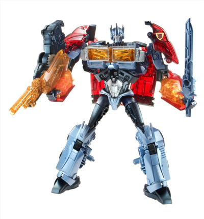 Transformers Prime Dark Energon Voyager Defender Optimus Prime