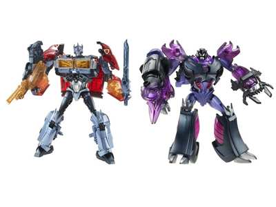 Transformers Prime Dark Energon Voyager Set of 2