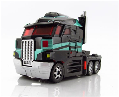 Transformers United Black Optimus Prime Tokoyo Toy Exclusive