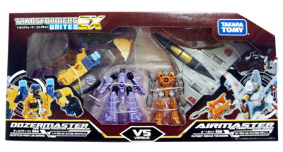 Transformers United - EXP 02 Dozer Master vs. Air Master