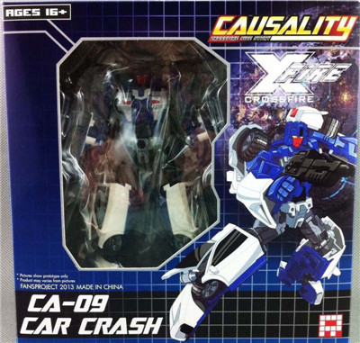 Transformers FansProject FPJ CA-09 Car Crash