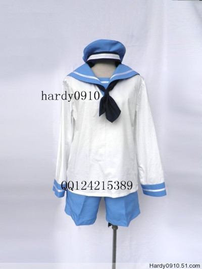 Axis Powers Hetalia Feliciano Cosplay North Italy Uniform 2th