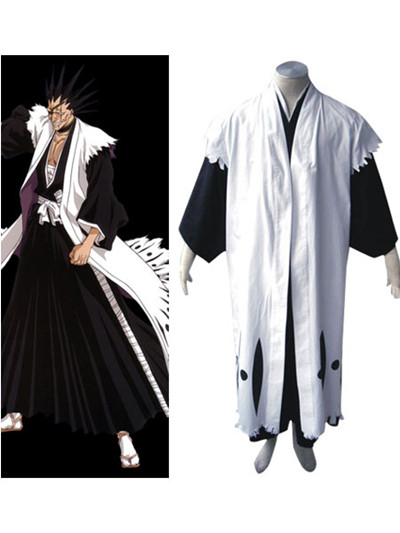 Bleach Cosplay 11th Division Zaraki Kenpachi Costume