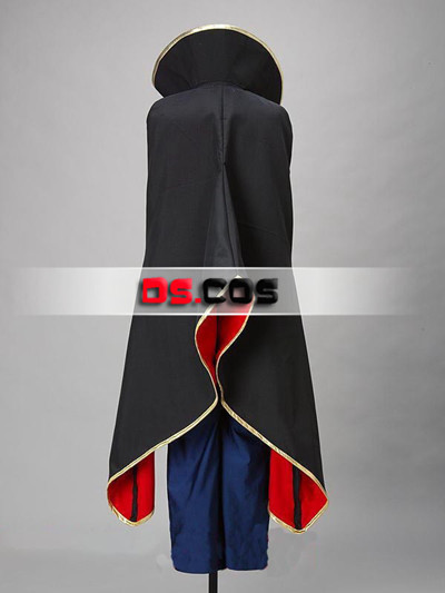 Code Geass The Emperor of Britannia Cosplay Costume