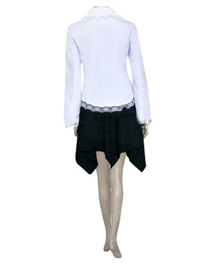 Death Note Amane Misa White Cosplay Costume