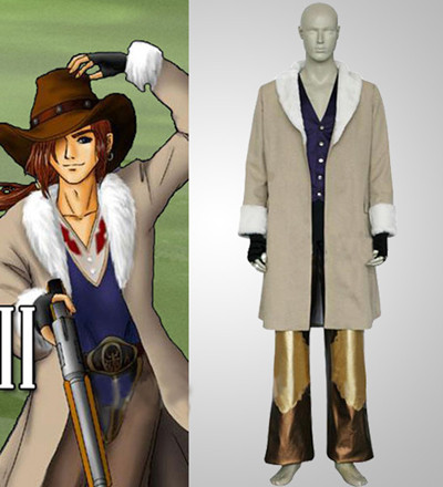 Final Fantasy VIII Irvine Kinneas Cosplay Costume