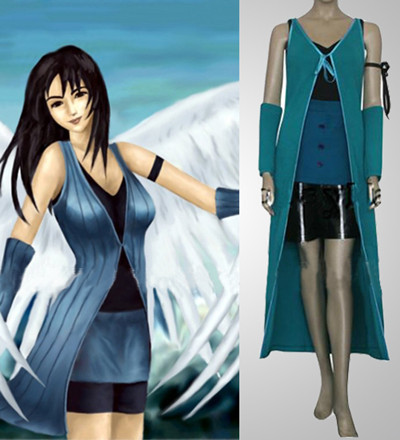 Final Fantasy Rinoa Heartilly Cosplay Costume