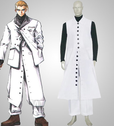 Final Fantasy VII Rufus Shinra Cosplay Costume