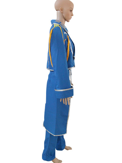 Full Metal Alchemist Riza Hawkeye Military Cosplay Costume