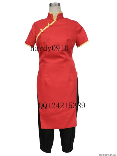 Gintama Kagura Chi-pao 7th Cosplay Costume