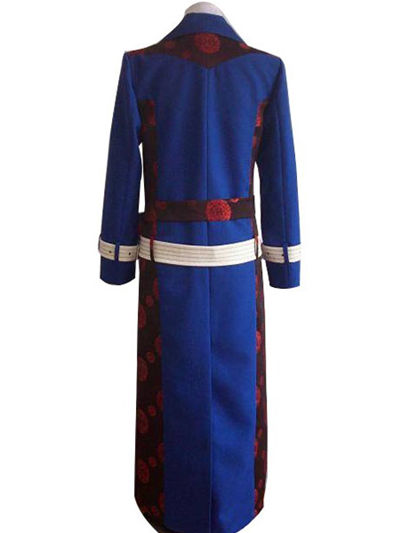 Hakuouki Shinsengumi Kitan Dark Blue Cosplay Costume