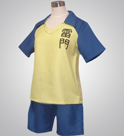 Inazuma Eleven Yellow And Blue Cosplay Costume