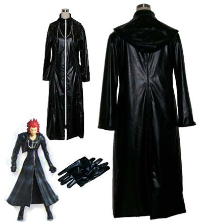 Kingdom Hearts Cosplay Black Uniforms Custom