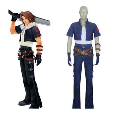 Kingdom Hearts Squall Leonhart Cosplay Costumes