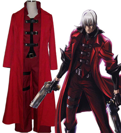 Devil May Cry Ver.4 Dante Halloween Cosplay Costume