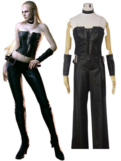 Devil May Cry Ver.4 Trish Cosplay Costume