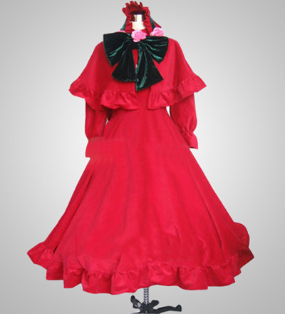 Rozen Maiden Pure Ruby Cosplay Costume