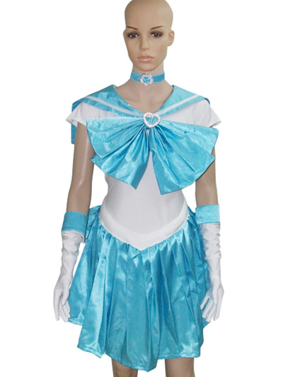 Sailor Moon Sailor Merkury Cosplay Costume