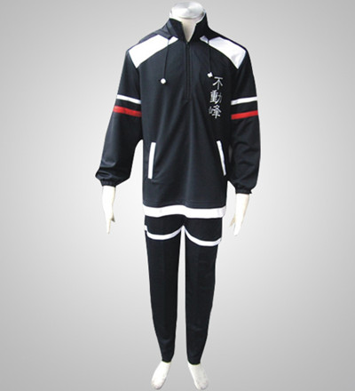 The Prince Of Tennis Black Uniform Cosplay Costume