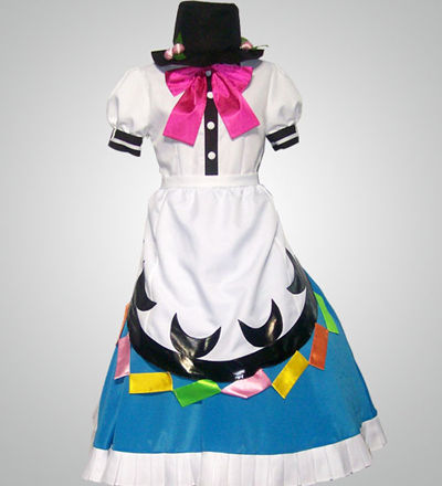 Touhou Project Game Tenshi Hinanai Amine Cosplay Costume