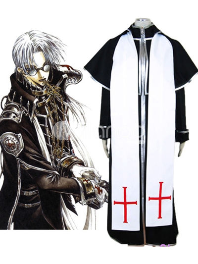 Trinity Blood Abel Nightroad Cosplay Costume