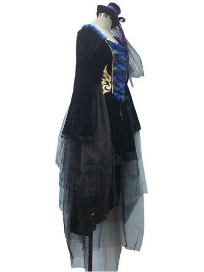 Vocaloid Blue Dress Cosplay Costume