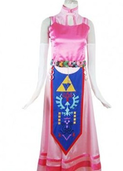The Legend of Zelda Princess Zelda Cosplay Costume