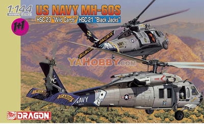 1:144 Dragon MH-60S HSC-21 Blackjacks + HSC-23 Wildcards 4616