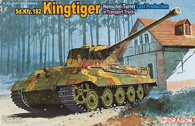 1:35 Dragon SdKfz 182 Kingtiger Henschel Turret Last Production 6209