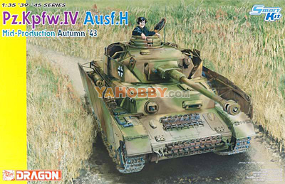 1:35 Dragon Panzer Pz.Kpfw.IV Ausf.H Mid Production Autumn 6526