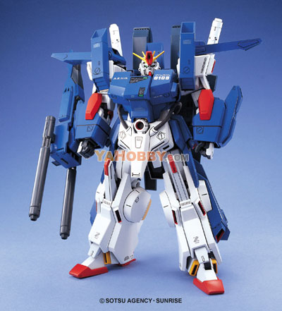 Gundam Master Grade 1/100 Model Kit - MG Full Armor ZZ