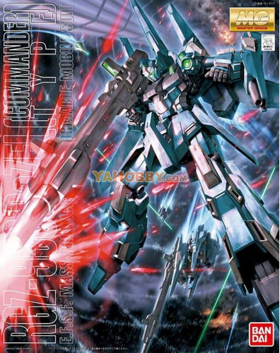 Gundam Master Grade 1/100 Model Kit MG ReZel Commander Type