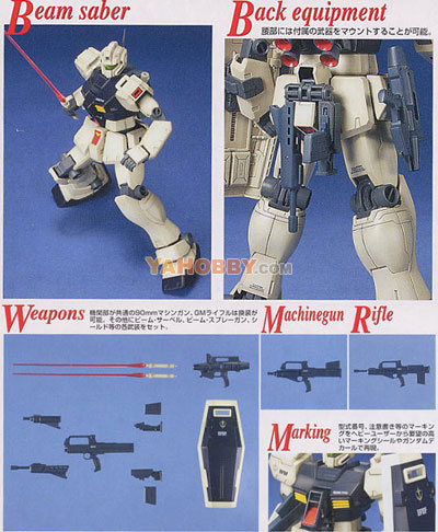Gundam Master Grade 1/100 Model Kit RGM-79C GM Type C