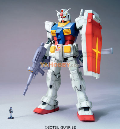 Gundam Master Grade RX-78-2 Ver.O.Y.W 0079 Animation Color