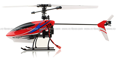 Nine Eagles 328A Solo Pro 4CH RC Helicopter RTF 2.4GHz w/ Gyro Red