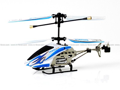 SanHuan Copter 6025-1 Mini X 3CH RC Helicopter RTF w/ Gyro Blue