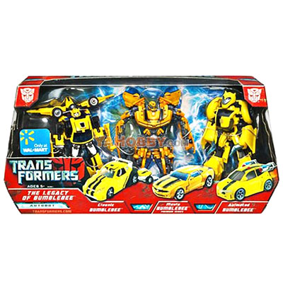 Transformers 2007 Movie The Legacy of Bumblebee Box Set